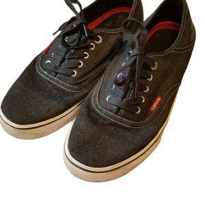 Levi's Canvas Black Shoes